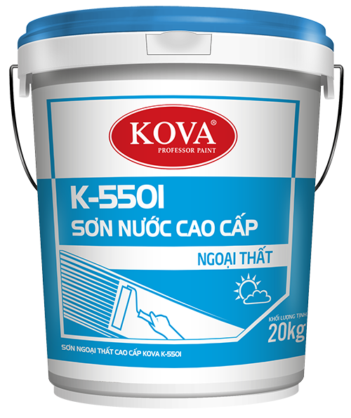 SƠN NGOẠI THẤT CAO CẤP KOVA K-550