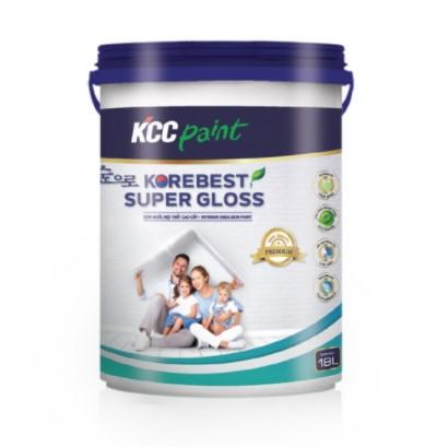 SƠN NỘI THẤT KOREBEST SUPER GLOSS
